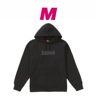 Supreme - Supreme KAWS Chalk LogoHooded Sweatshirt