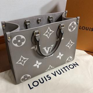 LOUIS VUITTON - 【超美品】新作 ヴィトン  オンザゴー MM トゥルトレーム クレーム