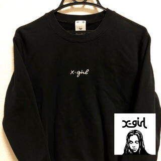 X-girl - X-girl Sweatshirt Black