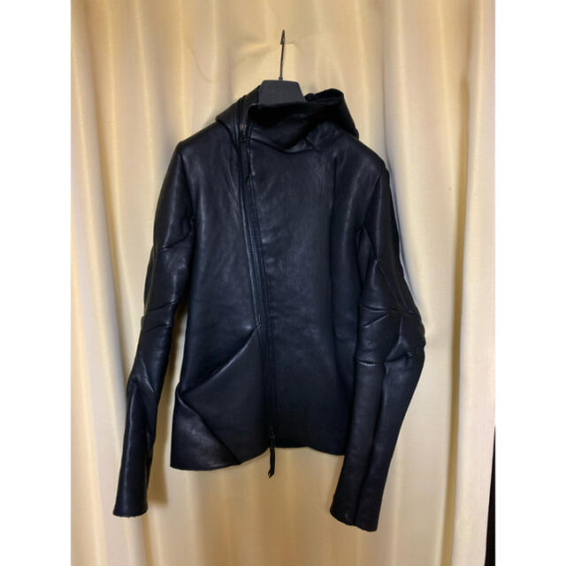 Carol Christian Poell(キャロルクリスチャンポエル)のLEON EMANUEL BLANCK  distortion メンズのジャケット/アウター(レザージャケット)の商品写真