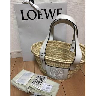 LOEWE - 新品LOEWEロエベ かごバッグ ホワイト白スモール
