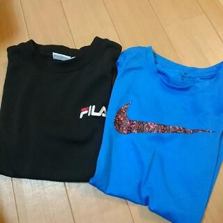 NIKE - ナイキ、FILA 140 中古 半袖Tシャツ