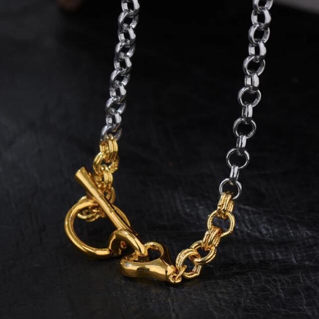 BEAUTY&YOUTH UNITED ARROWS(ビューティアンドユースユナイテッドアローズ)のContrast chain necklace No.531 レディースのアクセサリー(ネックレス)の商品写真