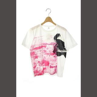 ワイズ(Y's)のワイズ Y's ヨウジヤマモト 19SS Tシャツ プリント 半袖 2 白 /(Tシャツ(半袖/袖なし))