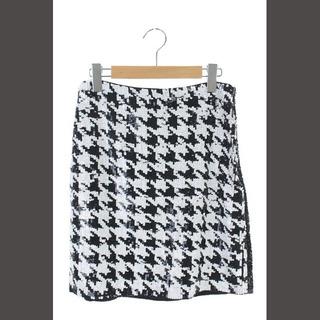 マカフィー(MACPHEE)のマカフィー MACPHEE トゥモローランド スカート 膝丈 タイト スパンコー(ひざ丈スカート)