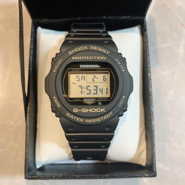 NEIGHBORHOOD(ネイバーフッド)のNEIGHBORHOOD × G-SHOCK CASIO 腕時計 メンズの時計(腕時計(デジタル))の商品写真