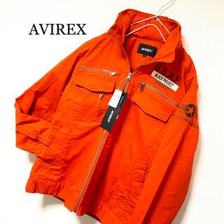 AVIREX - 新品 AVIREX 2way フライトジャケット ミリタリージャケット