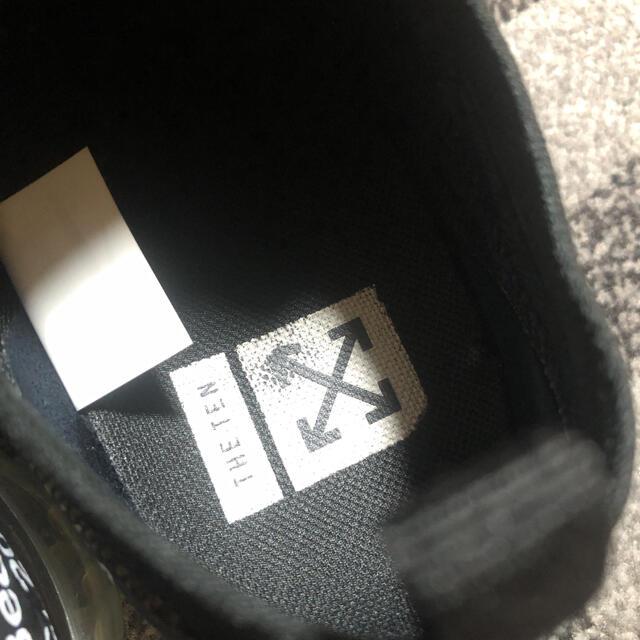 NIKE(ナイキ)のnike off white vapormax ナイキ オフホワイト メンズの靴/シューズ(スニーカー)の商品写真