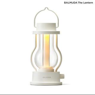 バルミューダ(BALMUDA)のBALMUDA The Lantern」ザ・ランタン(ホワイト) L02A-WH(ライト/ランタン)
