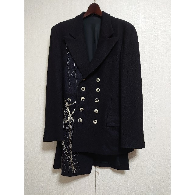 Yohji Yamamoto(ヨウジヤマモト)のヨウジヤマモト 19aw ライオンジャケット サイズ2 メンズのジャケット/アウター(テーラードジャケット)の商品写真