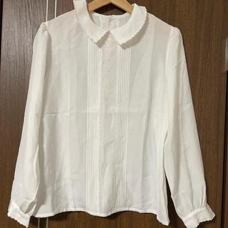 刺繍入りシャツ(シャツ/ブラウス(長袖/七分))