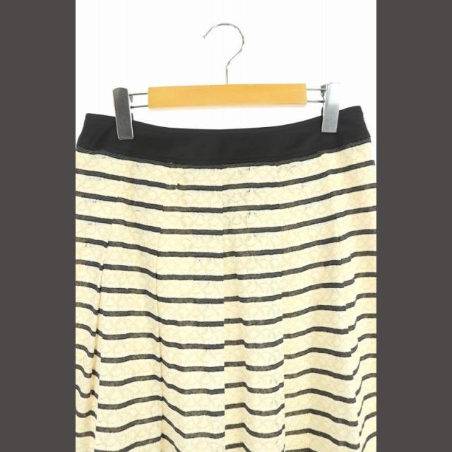 GALLERY VISCONTI(ギャラリービスコンティ)のギャラリービスコンティ GALLERY VISCONTI フレアスカート ひざ丈 レディースのスカート(ひざ丈スカート)の商品写真