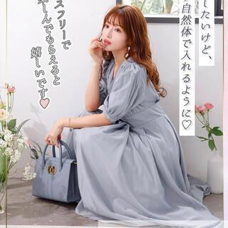 snidel - MICOAMERI 超美シルエットワンピース
