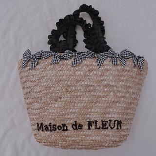 メゾンドフルール(Maison de FLEUR)のメゾンドフルール カゴバッグ(かごバッグ/ストローバッグ)