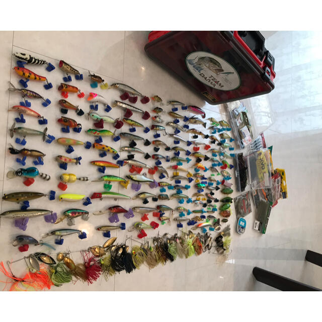 DAIWA(ダイワ)のルアーセット 大量セット 超お得 最終値下げ スポーツ/アウトドアのフィッシング(ルアー用品)の商品写真