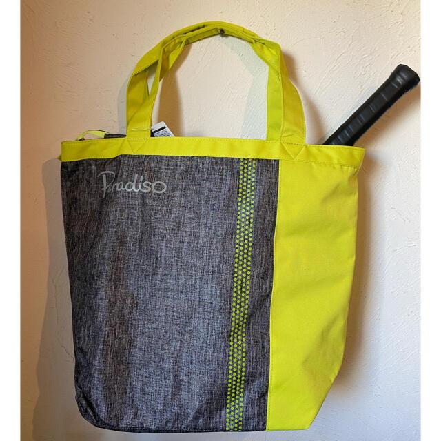 Paradiso(パラディーゾ)のparadiso  バッグ ラケット入れる仕切り付き 黄色 スポーツ/アウトドアのテニス(バッグ)の商品写真