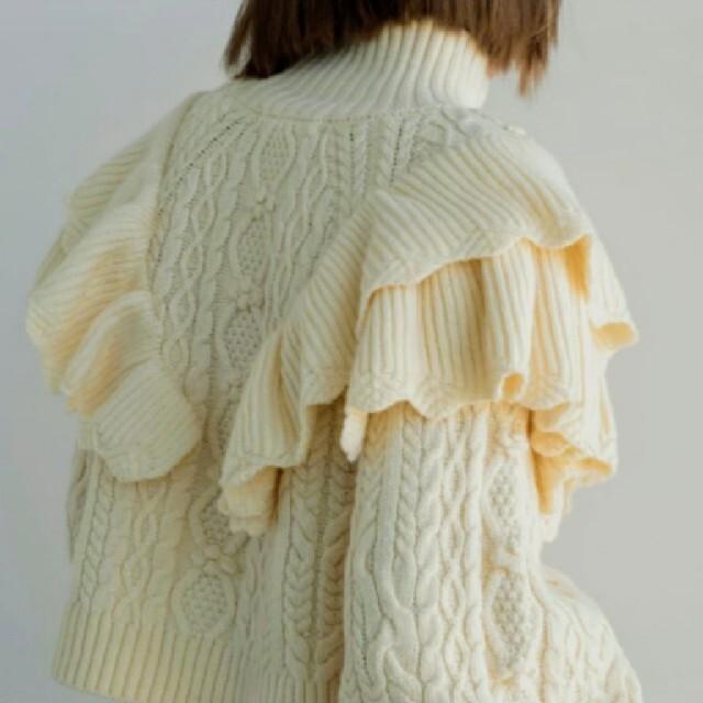 ZARA(ザラ)のZARA◆2019/大人気◆リブ編みボリュームニットセーター◆完売品◆ レディースのトップス(ニット/セーター)の商品写真