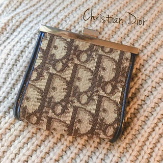 Christian Dior - Christian Dior クリスチャンディオール コインケース トロッター柄