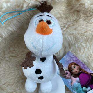 Disney - アナと雪の女王 オラフ ぬいぐるみ キーホルダー