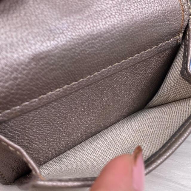 JIMMY CHOO(ジミーチュウ)の✨美品✨JIMMY CHOO ジミーチュウ ネモ ミニウォレット 三つ折財布 レディースのファッション小物(財布)の商品写真