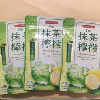 抹茶檸檬 3袋 抹茶 レモン(茶)