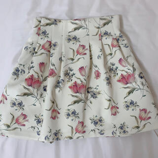 dazzlin - dazzlin チューリップ柄スカート