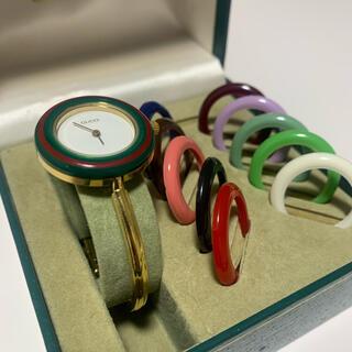 Gucci - GUCCI チェンジベゼル 時計