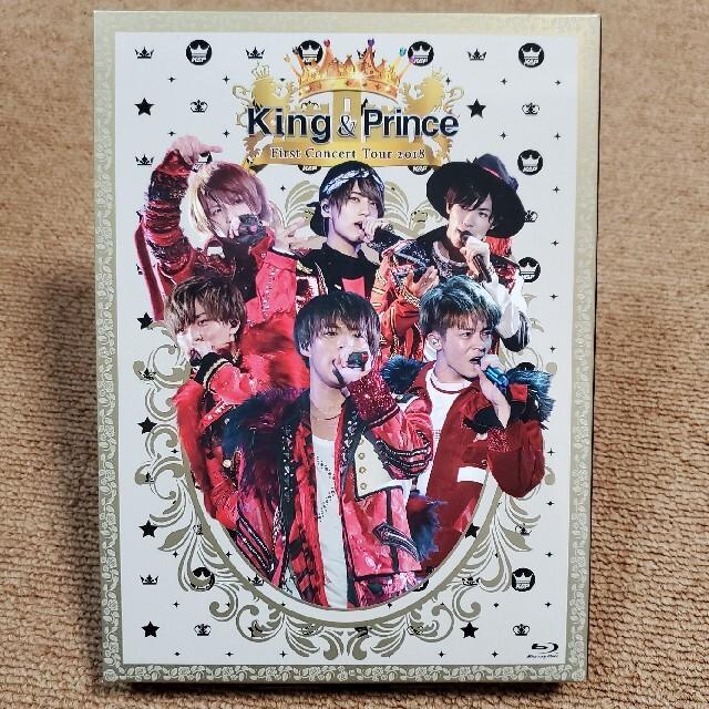 Johnny's(ジャニーズ)のKing & Prince First Concert Tour 2018(初回 エンタメ/ホビーのDVD/ブルーレイ(ミュージック)の商品写真