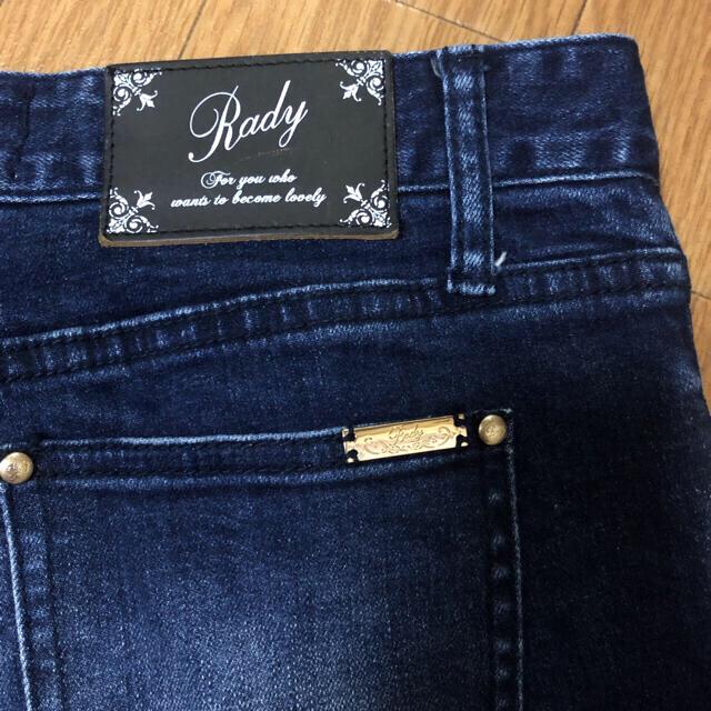 Rady(レディー)のRady スキニーデニム 26インチ レディースのパンツ(スキニーパンツ)の商品写真