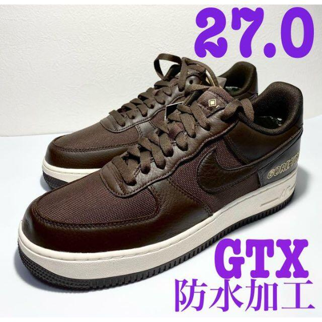 NIKE(ナイキ)のエアフォース1 GTX ナイキ スニーカー メンズ ゴアテックス 防水 茶 メンズの靴/シューズ(スニーカー)の商品写真