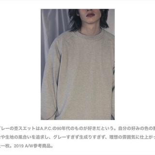 COMOLI - 【極美品】COMOLI インレイ SWEAT スウェット 2