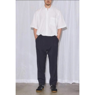 COMOLI - 【新品未使用】20SS COMOLI 『WOOL 2TUCK PANTS』