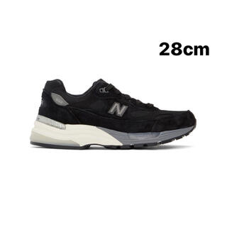New Balance - 28cm New Balance 992 ブラック 新品