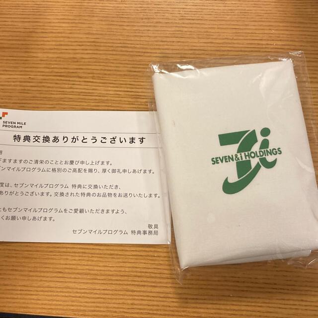 セブンイレブン★レジ袋風エコバッグ レディースのバッグ(エコバッグ)の商品写真