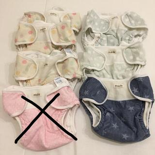 ニシキベビー(Nishiki Baby)のニシキ 布オムツカバー セット 6枚(布おむつ)
