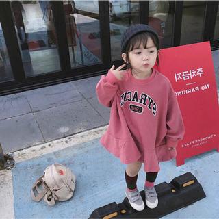 韓国子供服 ベビー服 子供 ワンピース カジュアル