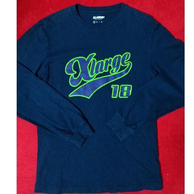 XLARGE(エクストララージ)のエクストララージ  X-LARGE ロンT 長袖 即購入可 メンズのトップス(Tシャツ/カットソー(七分/長袖))の商品写真