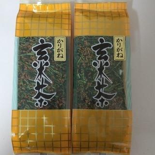 【大和茶】茎茶/緑茶 かりがね玄米茶180g×2袋(茶)