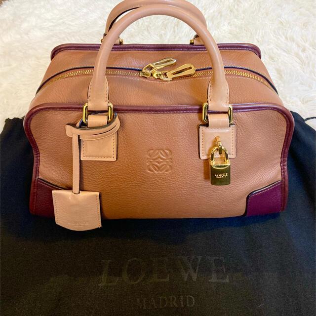 LOEWE(ロエベ)のLOEWE ロエベ アマソナ28 ハンドバッグ ミニボストン トリコロール レディースのバッグ(ハンドバッグ)の商品写真