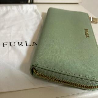 Furla - FURLA ミントグリーン長財布