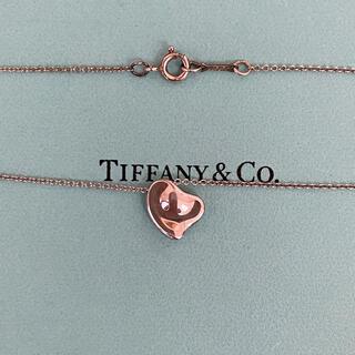 Tiffany & Co. - 〔未使用に近い〕ティファニーネックレス          箱・保存袋・カード付き