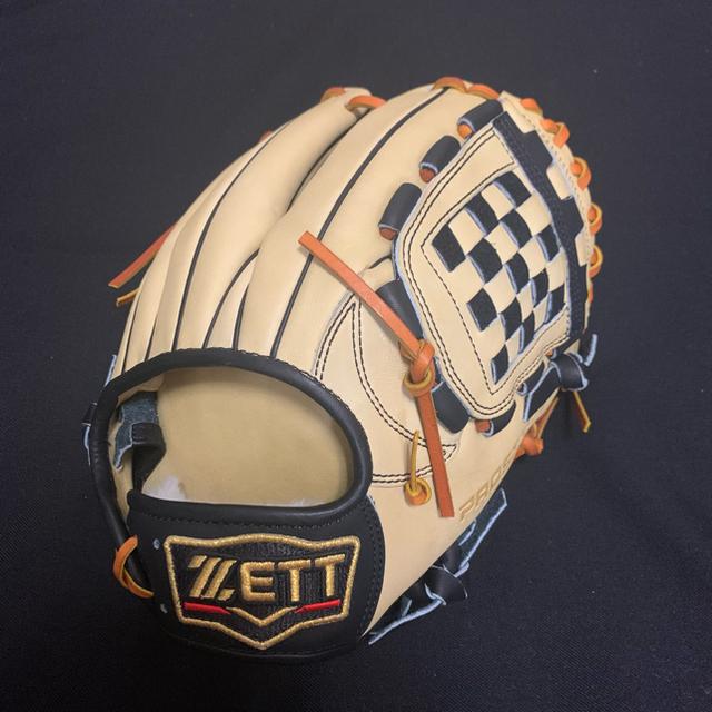 ZETT(ゼット)の【源田モデル】プロステイタス オーダーグラブ 源田モデル スポーツ/アウトドアの野球(グローブ)の商品写真