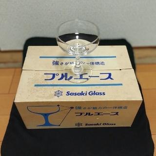 トウヨウササキガラス(東洋佐々木ガラス)のシャンパングラス  6個(グラス/カップ)