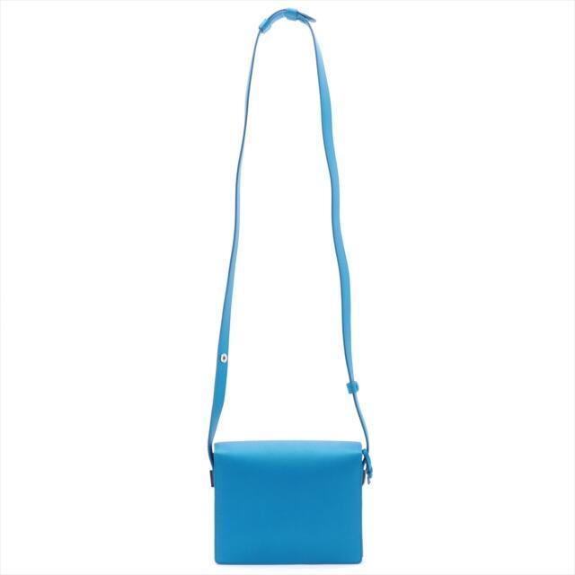 デルボー マダム レザー  ブルー レディース ショルダーバッグ レディースのバッグ(ショルダーバッグ)の商品写真