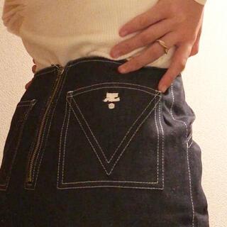 Courreges - courreges  denim mini skirt