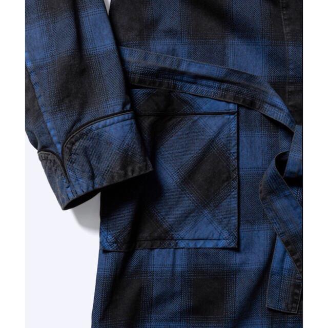 新品 2(M) minedenim black denim check gawn メンズのトップス(シャツ)の商品写真