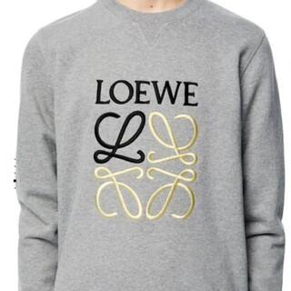 LOEWE - 新品正規品☆LOEWE アナグラム エンブロイダリー スウェットシャツ