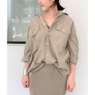 L'Appartement DEUXIEME CLASSE - REMI RELIEF/レミレリーフ Chambray シャツ アパルトモン