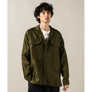 1LDK SELECT - KAPTAIN SUNSHINE Mil.Shirt Jacket