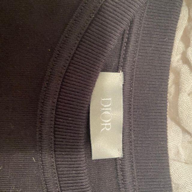 Dior(ディオール)の【値下げ】DIOR×SORAYAMA フラワーワッペンロゴプリントTシャツ L メンズのトップス(Tシャツ/カットソー(半袖/袖なし))の商品写真